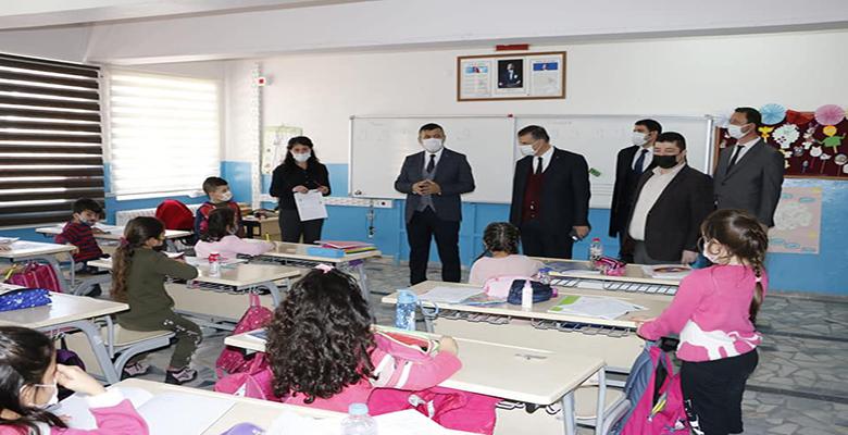 Yeşilhisar'da Okullara Yeniden Dönüş Sevinci