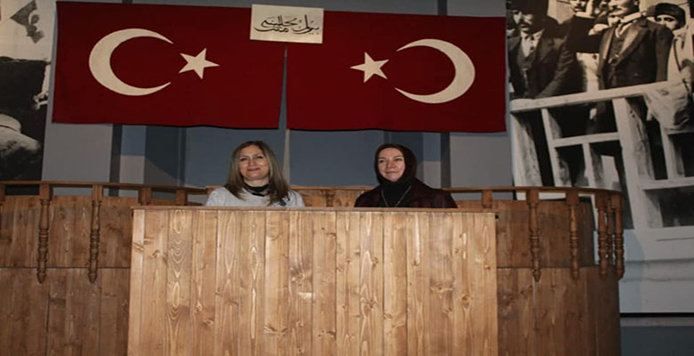 Milletvekili Hülya Nergis Atçı, Milli Mücadele Müzesi'ni ziyaret etti