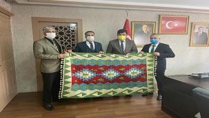 Başkan Baki Bayrak'tan Vali Yardımcısı Nail Anlara Ziyaret