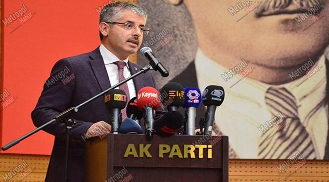 Başkan Çopuroğlu, AK Parti Genişletilmiş İl Başkanları Toplantısına Katıldı