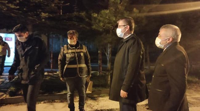 Başkan Çopuroğlu Sahura kadar ziyaretlerine devam ediyor