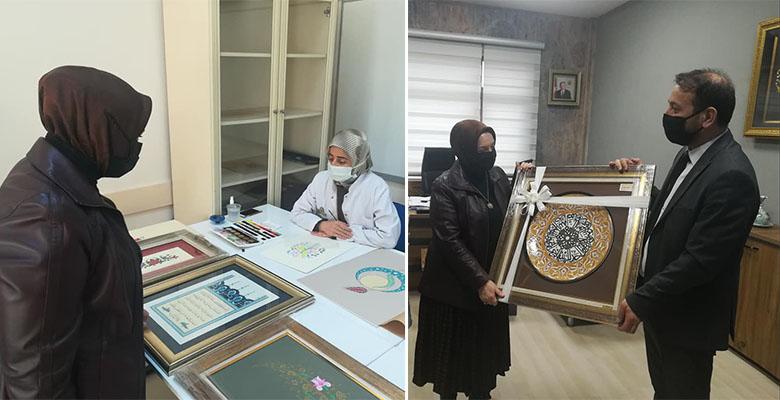 Milletvekili Hülya Nergis Atçı'dan KAYMEK'e ziyaret