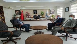 Felahiye Derneğinden Başkanı Vural Coşkun'a Ziyaret
