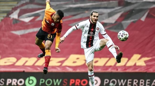 Galatasaray'da berabere kaldı