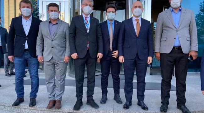 İl Başkanı Çopuroğlu'nun Ankara temasları