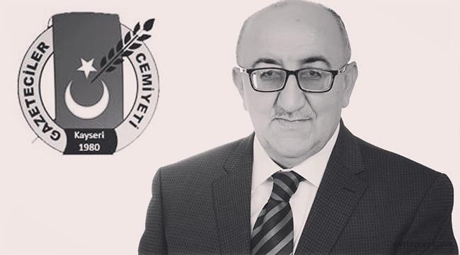 İncesu Belediye Başkanı Av. Mustafa İlmek, Veli Altınkaya'ya Allah'tan rahmet diledi