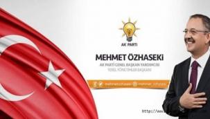 Mehmet Özhaseki'nin Yeni Yardımcıları Belli Oldu
