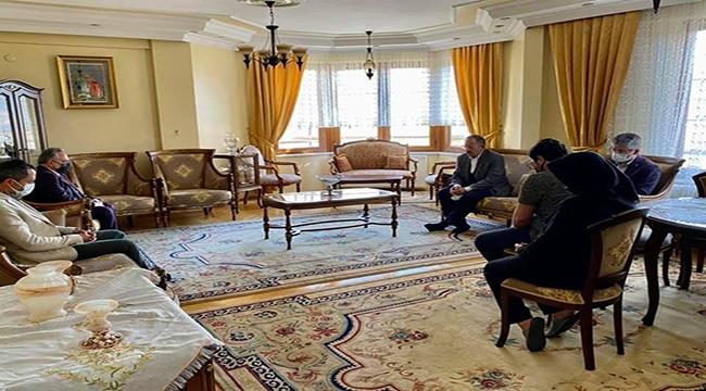Başkan Çopuroğlu Veli Altınkaya'nın Ailesini Ziyaret Etti