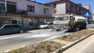 Tomarza'da Bayram Öncesi Temizlik İşleri Devam Ediyor