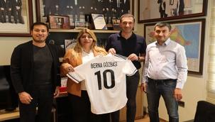 Berna Gözbaşı ve Ali Naibi'den Azerbaycan Ziyareti