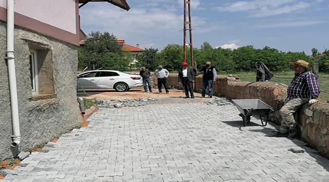 Felahiye Belediyesinde Kilitli Parke Çalışması