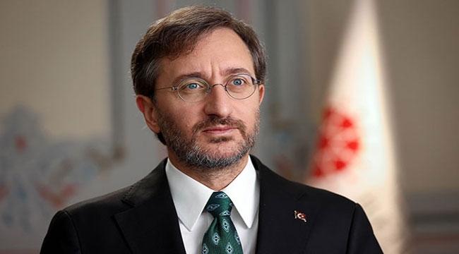 İletişim Başkanı Fahrettin Altun'dan, Irkçılığa Tepki