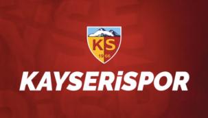 Kayserispor'dan Galatasaray'a tebrik mesajı