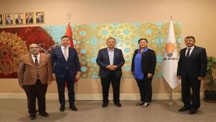 Özhaseki ve ekibi Kırşehir'i konuştu