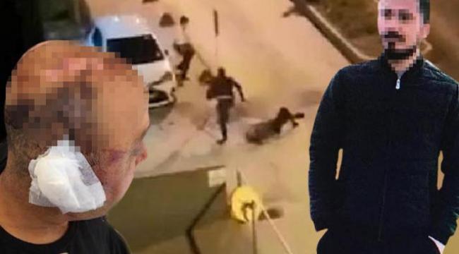Polisi öldüresiye dövdü