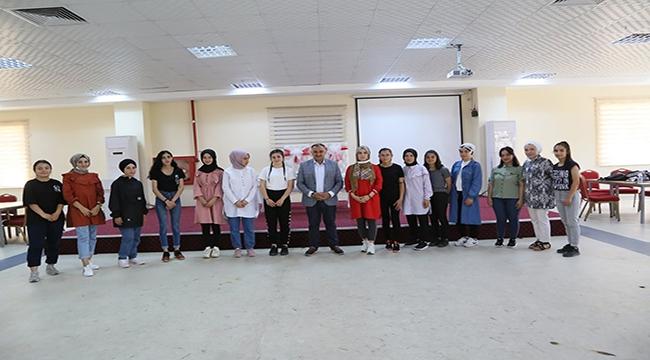 Başkan Mehmet Cabbar'dan Develi Kadın ve Gençlik Merkezine ziyaret
