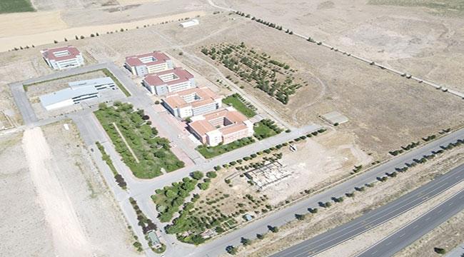 Develi'de sosyal tesisin inşası devam ediyor