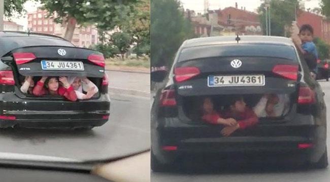 Konya'da çocukların tehlikeli yolculuğu
