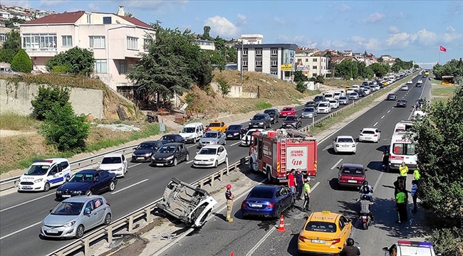 Kurban Bayramı boyunca trafik kazalarında hayatını kaybedenlerin sayısı 38'e yükseldi