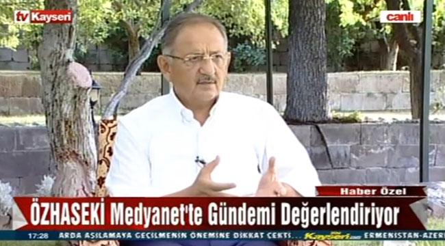 Özhaseki, Tv Kayseri Ekranlarında Gündemi Değerlendirdi