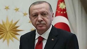 Cumhurbaşkanı Erdoğan'dan teşekkür mesajı