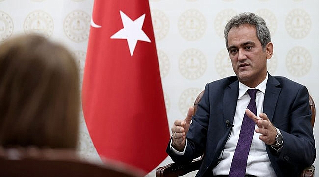 Milli Eğitim Bakanı Mahmut Özer'den flaş yüz yüze eğitim açıklaması: