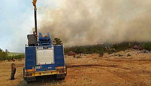 TSK yangınla mücadelede milletinin yanında