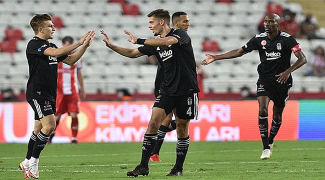 Beşiktaş 2-0'dan geri döndü