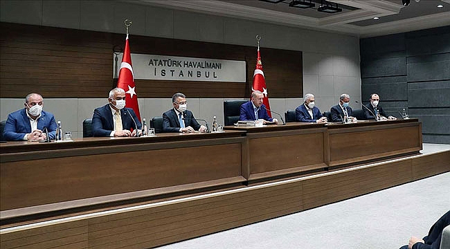Erdoğan: Türkiye kimsenin kapı kulu değildir