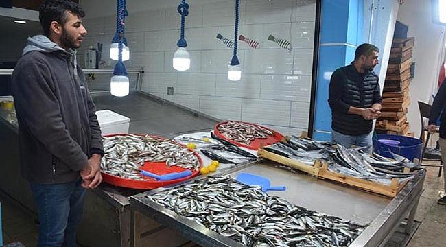 Fırtına nedeniyle balık fiyatları katlandı