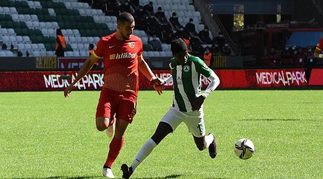 GZT Giresunspor ile Kayserispor yenişemedi