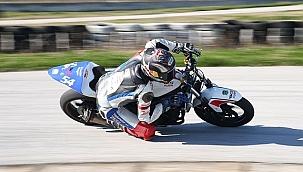 Milli motosikletçi İspanya'da 3. oldu