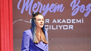 Milli voleybolcu Meryem Boz, Eskişehir'de