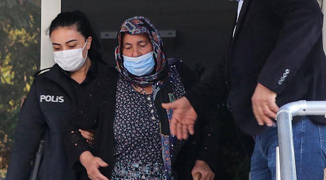 67 yaşındaki kadın yakalandı