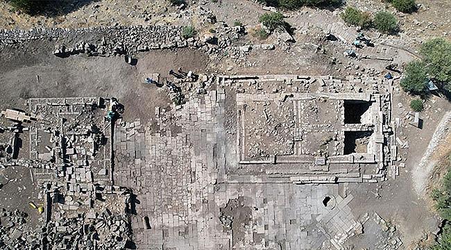 Athena Tapınağı'nın silüeti ortaya çıktı
