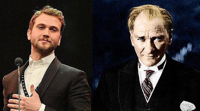 Ayşe Arman duyurdu! Aras Bulut İynemli, Mustafa Kemal Atatürk'ü canlandıracak