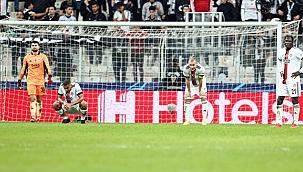 Beşiktaş, kötü günler geçiriyor