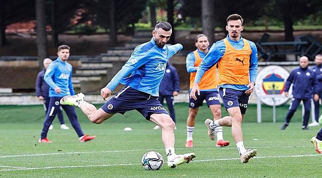 Fenerbahçe Tisserand takımla çalıştı