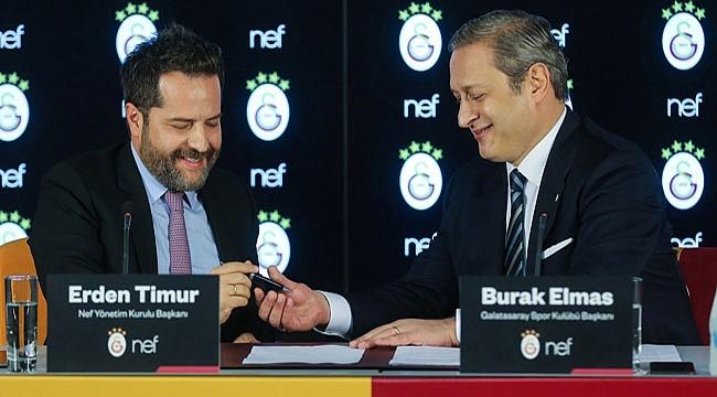 Galatasaray'dan 725 milyon TL'lik sponsorluk anlaşması
