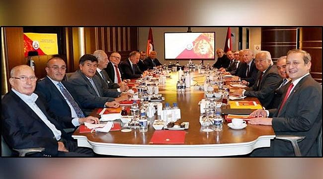 Galatasaray İstişare Kurulu toplandı