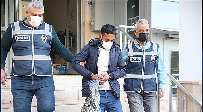Kayseri'de suçüstü yakalanan hırsızlık şüphelisi tutuklandı