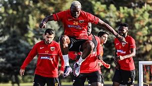 Kayserispor Alanyaspor maçı hazırlıklarına devam ediyor