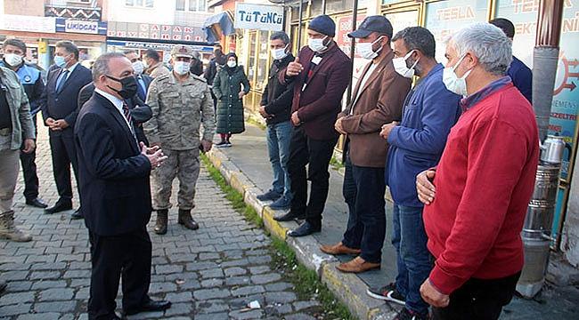 Mavi kategoriye yaklaşan Ardahan'da vakalar arttı