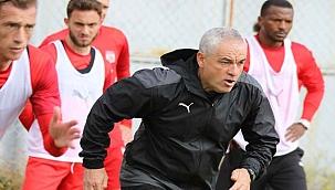 Sivasspor'da Adana Demirspor için hazırlanıyor